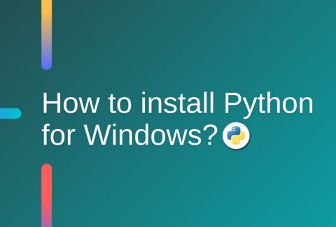 How to install Python for Windows