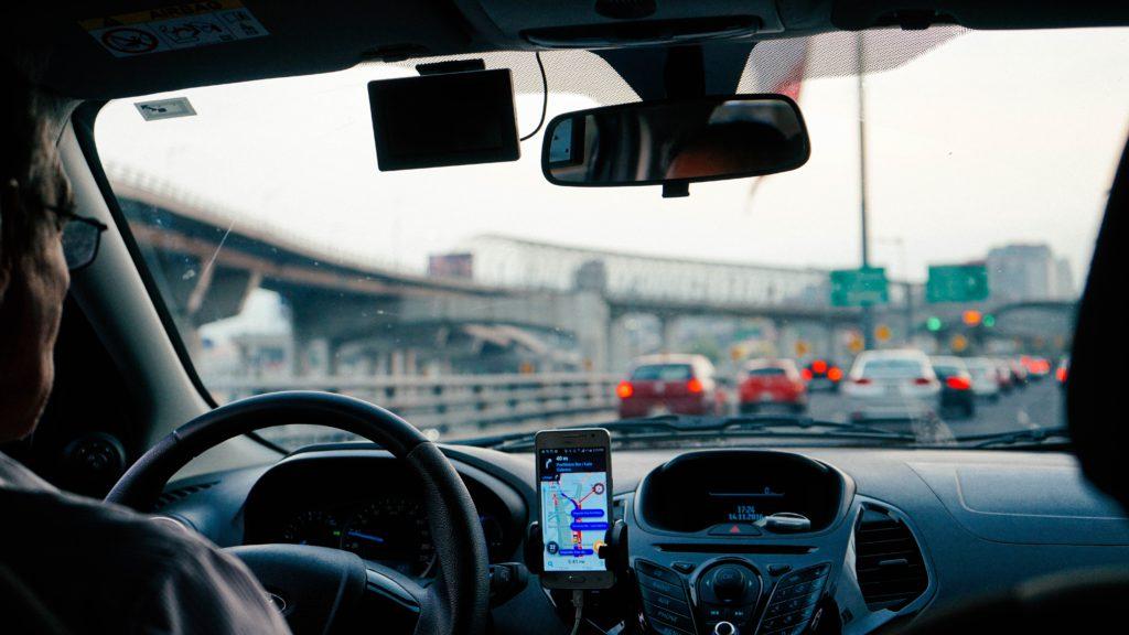 Uber ride trip
