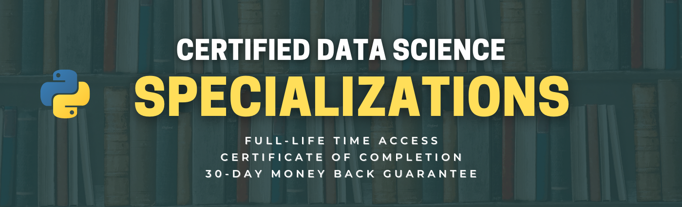 Certified Data Science Specializations - The Click Reader