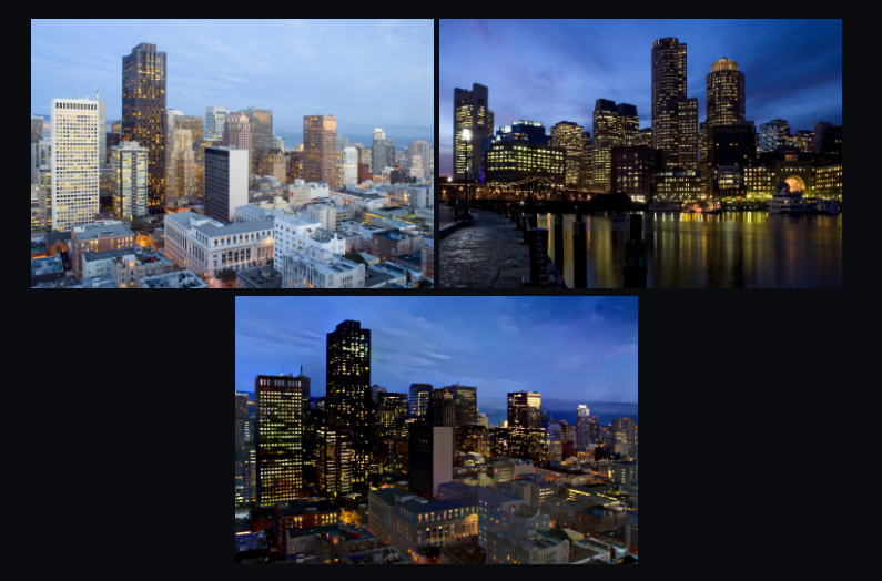Example of Deep Photo Style Transfer