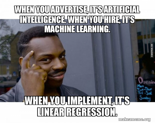I'm a Senior Data Scientist - Machine Learning and Data Science Jokes