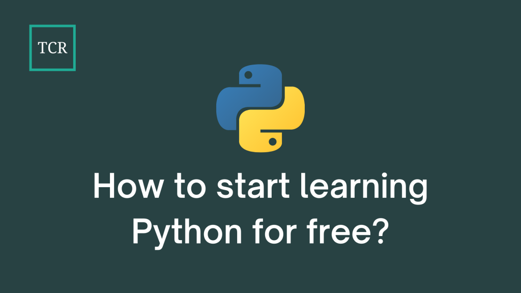 How To Start Learning Python For Free?