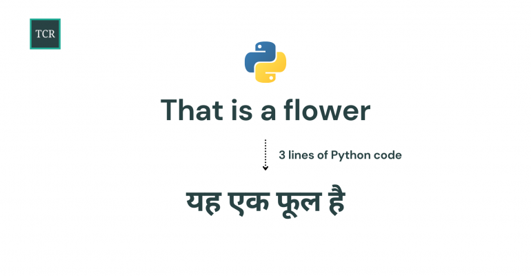 Language Translation using Hugging Face and Python in 3 lines of code