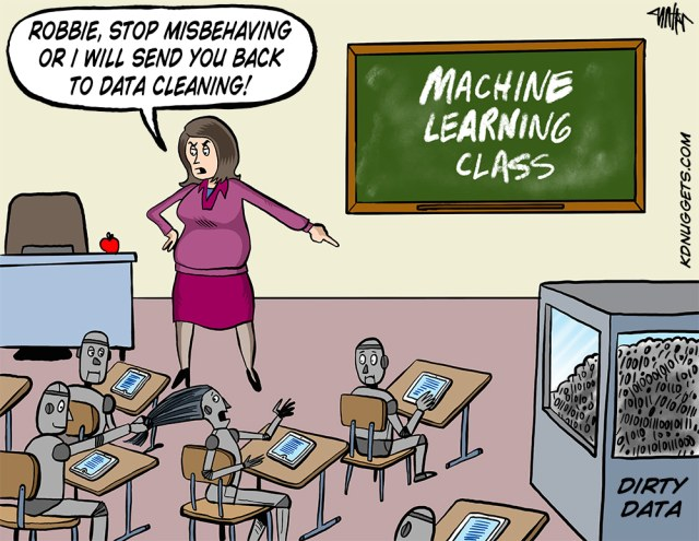 Data Cleaning isn't sexy anymore - Machine Learning and Data Science Jokes