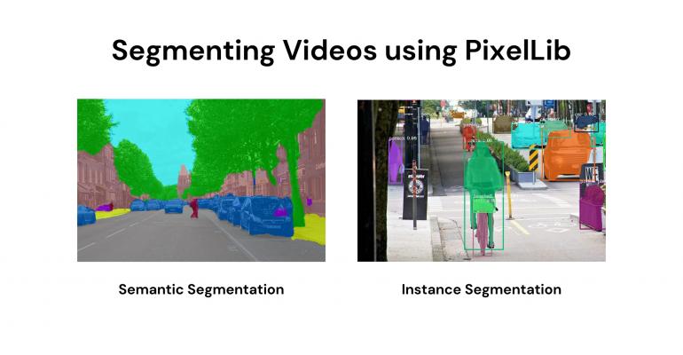 Semantic and Instance Segmentation on videos using PixelLib in Python