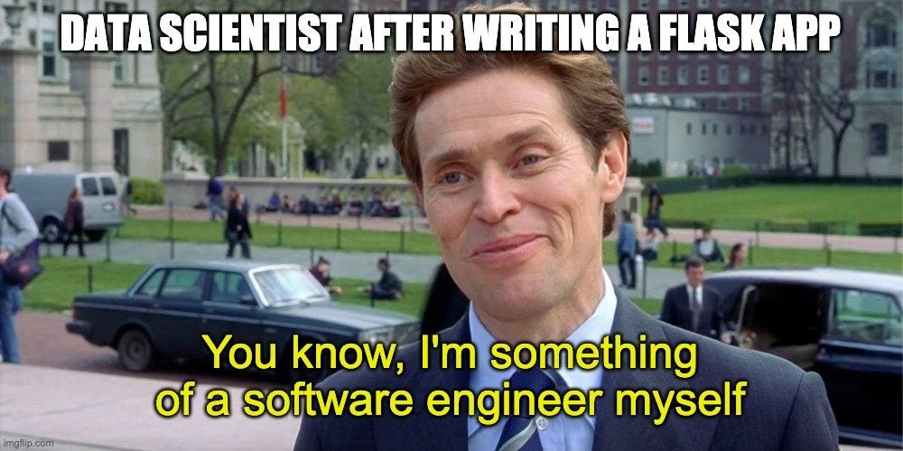 I'm a full-stack data scientist - Machine Learning and Data Science Jokes