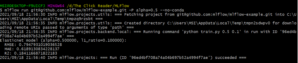 MLflow Project Example - MLflow for Machine Learning Lifecycle and Pipelines [Ultimate Guide]