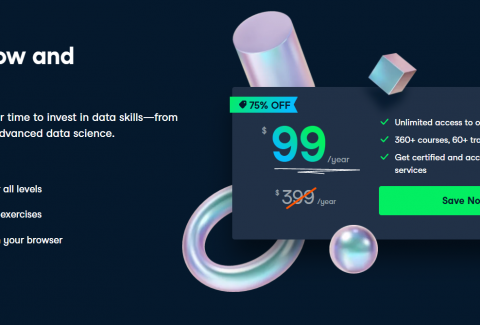 DataCamp Launches Flash Sale: Affordable Price Of The Year