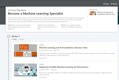 9 Become a Machine Learning Specialist Courses by LinkedIn Learning - Perfect for Beginners